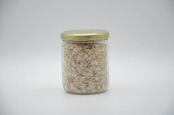 Bocal de flocons quatre céréales bio