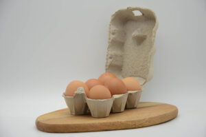 Boite de 6 œufs bio français