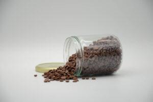 Bocal de pépites de chocolat au lait bio