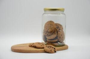 Bocal de cookies bio et vegan
