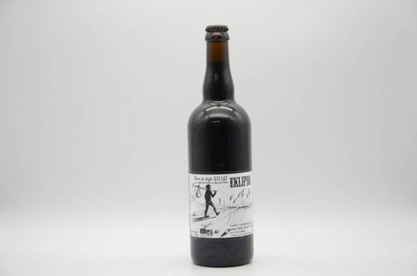 Bouteille de bière bio Eklipso 75cl